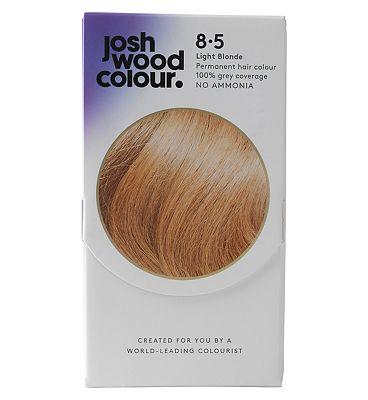 Josh Wood Colour 8.5 Light Blonde Permanent Hair Dye