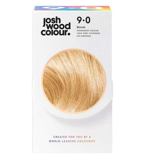 Josh Wood Colour 9.0 Lightest Blonde Permanent Hair Dye
