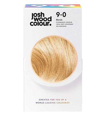 Josh Wood Colour 9.0 Lightest Blonde Permanent Hair Dye