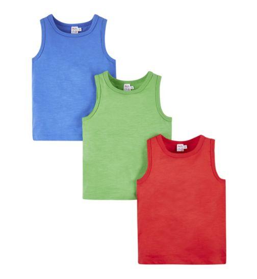 Mini Club 3 Pack Vest