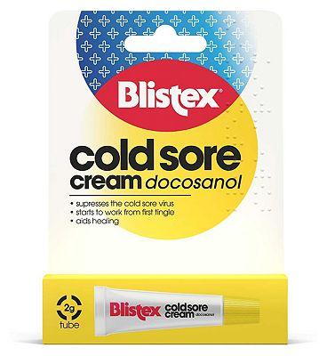 Blistex Cold Sore Cream - 2g