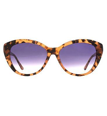 Whistles Sunglasses - Milky Pink Tortoiseshell Frame