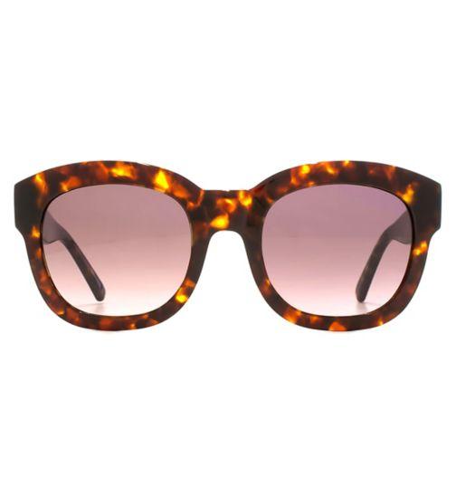 7e5f8101c8 Whistles Sunglasses Stylish Chunky Ladies Acetate Tortoiseshell 26WHS001-TOR
