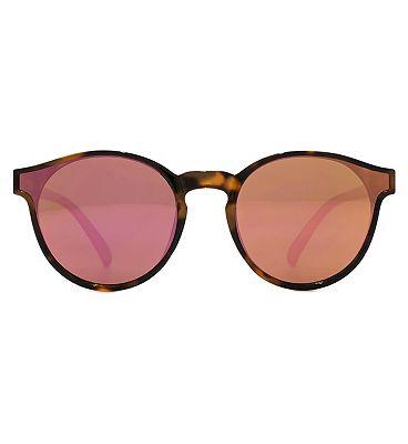 Monkey Monkey Sunglasses Metal Mirrored Dark Tort Q26MNK235