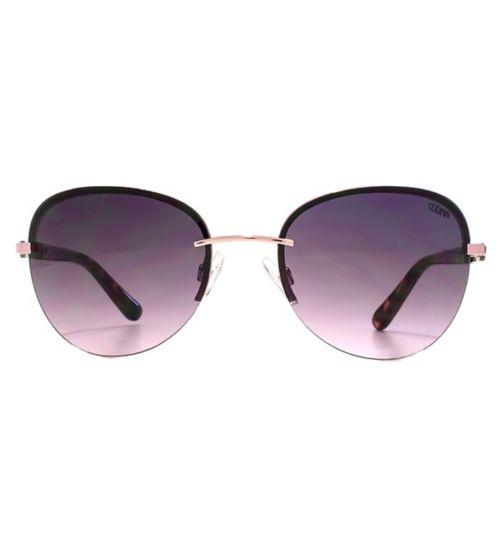 4a7e0486000 Suuna Women Sunglasses Rimless Pink Metal Shiny Pink Q26SUU163