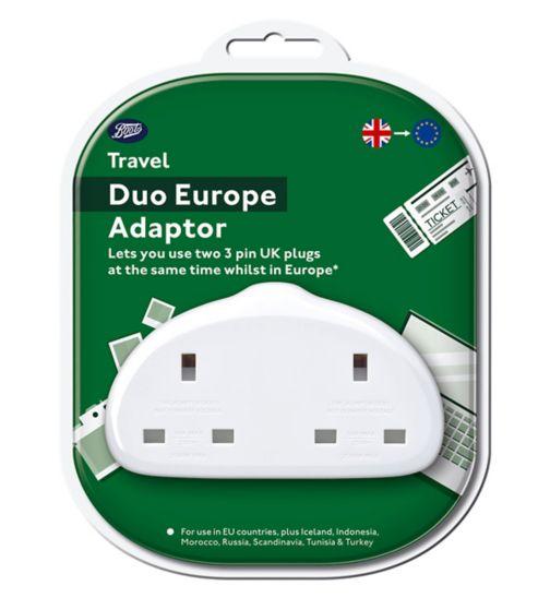 Boots Duo UK to Europe Adaptor