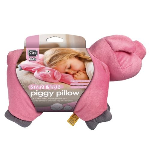 GoTravel Piggy Folding Kids Travel Pillow