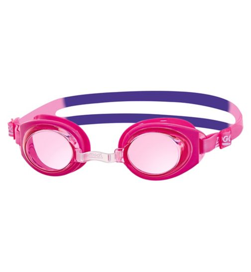 Zoggs Ripper Junior Pink Goggles 6-14 Yrs