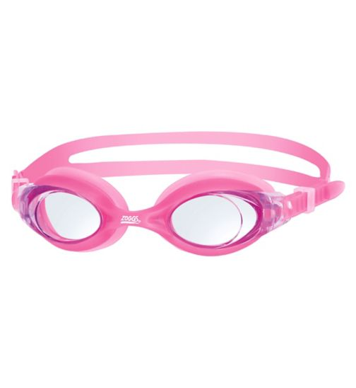 Zoggs Tide Junior Pink Goggles 6-14 Yrs