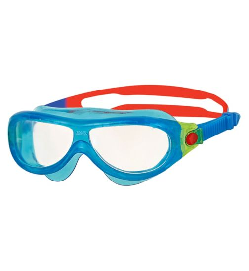 Zoggs Phantom Junior Mask Goggles Blue 0-6 Yrs