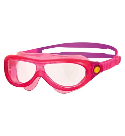 Zoggs Phantom Junior Mask Goggles Pink 0-6 Yrs