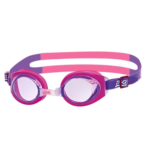 Zoggs Little Ripper Pink Goggles 1-6 Yrs
