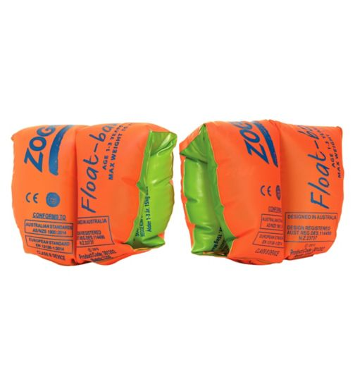 Zoggs Floatband Armbands 1-3 Yrs