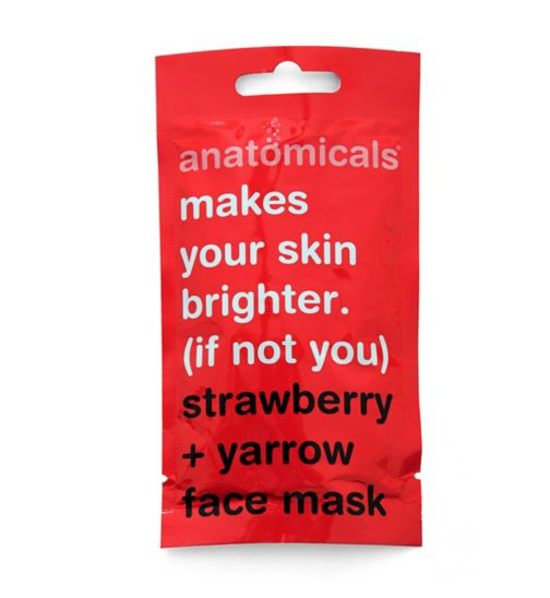 Anatomicals makes your skin brighter if not you face mask