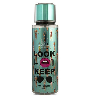 Material Girl Look Hot Keep Cool Body Mist 250ml