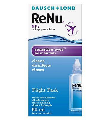 ReNu multi-purpose solution - Flight Pack 60ml