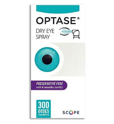 Optase Eye Spray - Preservative Free 17ml