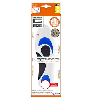 Neo G NeoThotics Full length Insoles Large - 1 Pair