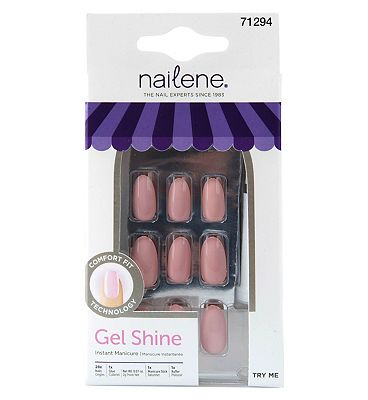 Nailene Gel Shine - Stiletto Nude
