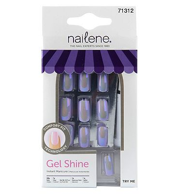 Nailene Gel Shine - Iridescent Lilac