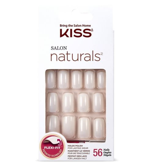 KISS Salon Natural - Chillax 56 nails