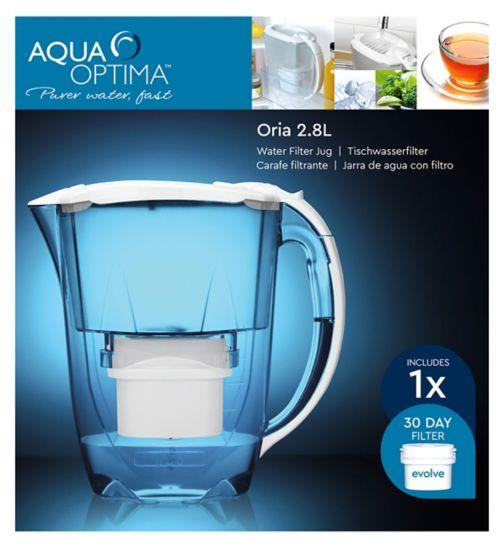 Aqua Optima Oria Jug 2.8L Jug and Evolve Filter set