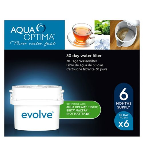 Aqua Optima Evolve Water Filter - 6 Cartridges