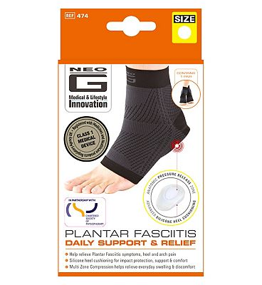 Neo G Plantar Fasciitis Daily Support & Relief Large - 1 Pair