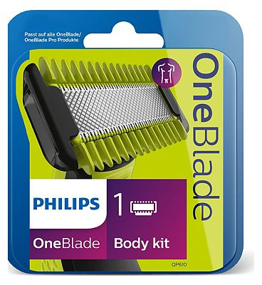 Image of Philips OneBlade Replacement Blade for Body & Face
