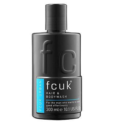 Fcuk Urban Hair and Body Wash 300ml