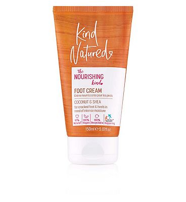 Kind Natured Coconut & Shea Foot Cream For Very Dry Feet & Cracked heels - 150ml