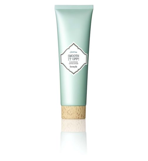Benefit smooth it off! cleansing exfoliator