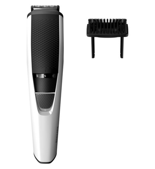 Philips Series 3000 Beard & Stubble Trimmer with Stainless Steel Blades BT3206/13