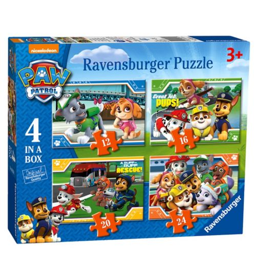 Ravensburger Paw Patrol 4 in a Box (12,