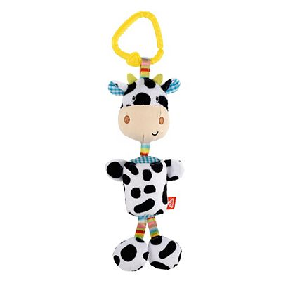 Early Learning Centre Blossom Farm soft chime cow