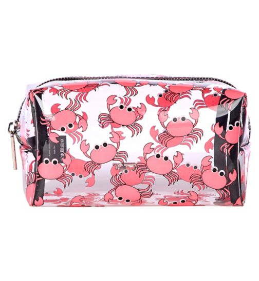 Skinnydip crab makeup bag