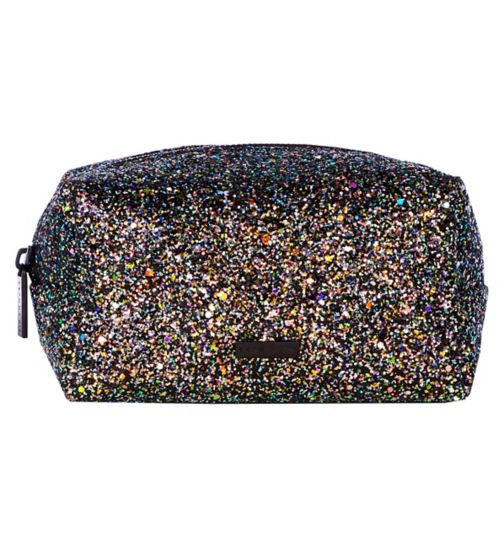 Skinnydip glitter makeup bag