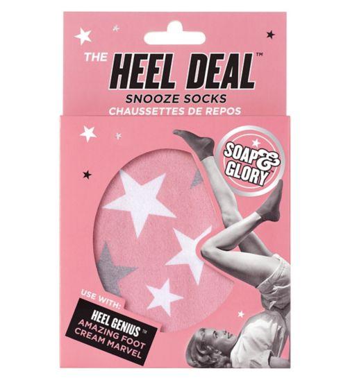 Soap & Glory The Heel Deal Snooze Socks