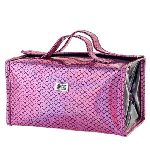 Soho Pink Scales Folded Organiser