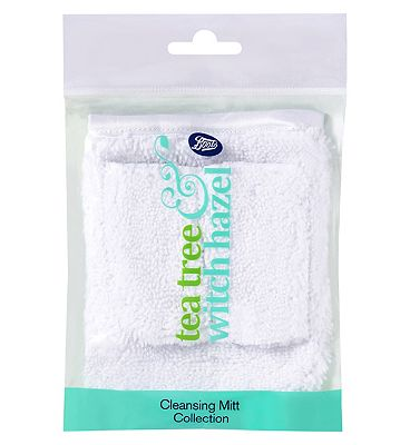 Boots Tea Tree & Witch Hazel Cleansing Mitt Collection