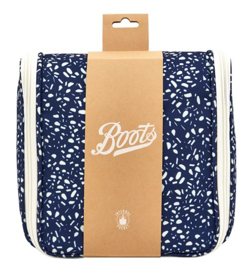 Boots Polka Dot Hanging Washbag