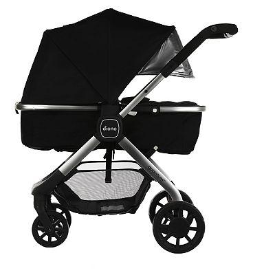 Diono Quantum Multi-Mode Travel Stroller – Black