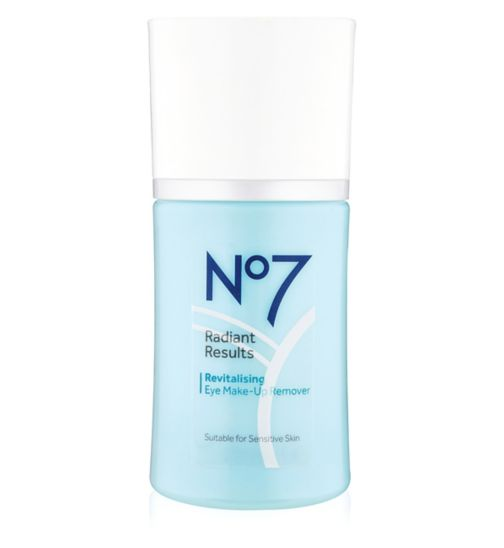 No7 Radiant Results Revitilising  Eye Make Up Remover 100ml