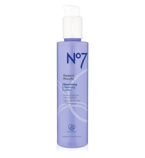 No7 Radiant Results Nourishing Cleansing Lotion 200ml