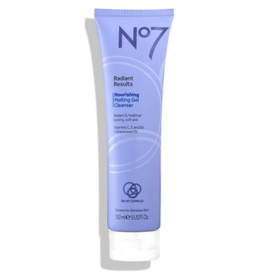 No7 Radiant Results Nourishing Melting Gel Cleanser 150ml by No7
