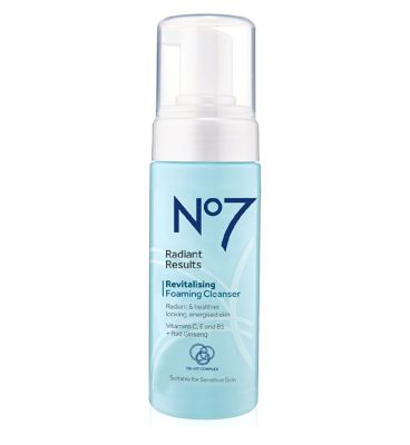 No7 Radiant Results Revitalising Foaming Cleanser 150ml by No7