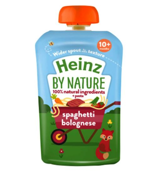Heinz 10+ Months By Nature Spaghetti Bolognese 180g