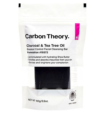 Carbon Theory Charcoal and Tea Tree Oil Break-OutControl Facial Cleansing Bar