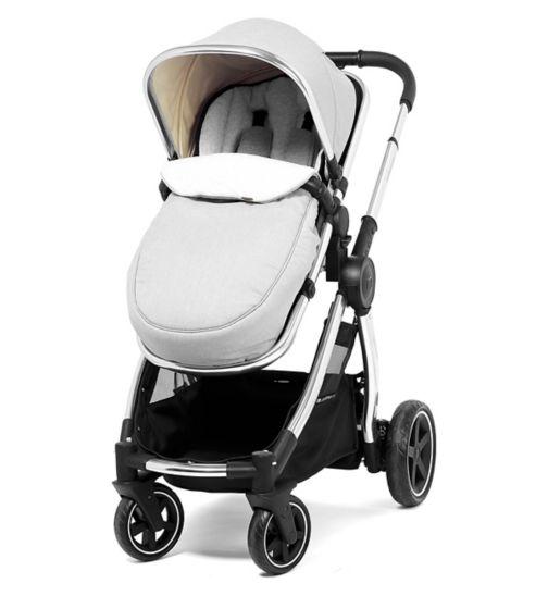30e73059b69b Mothercare 4 Wheel Journey Edit Pram and Pushchair - Alloy