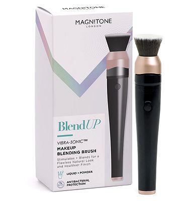 Magnitone BlendUp Vibra-Sonic Makeup Blending Brush Black